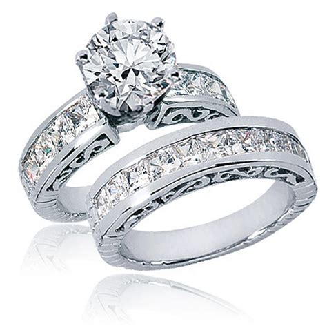 Wedding Sets by Wedding Sets Cubic Zirconia Wedding Sets