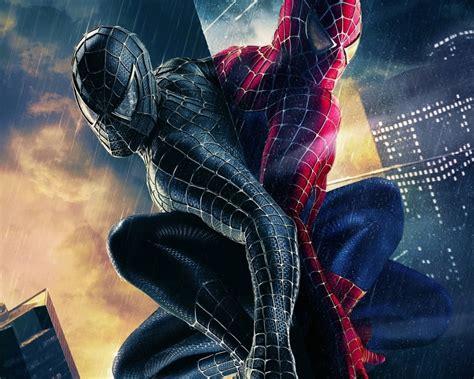 wallpaper black spiderman hd hd movie wallpapers wallpaper of spiderman in black