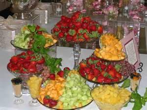 Fruit Buffet Table Ideas Skyline Cafe