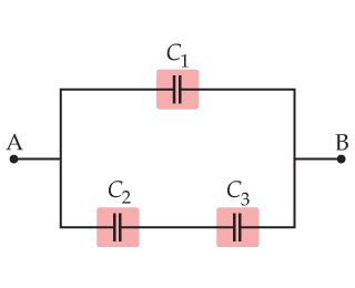 capacitor energy paradox solved find the equivalent capacitance between points a and b for 2 answers transtutors