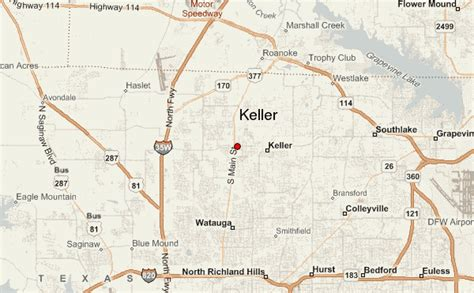 keller location guide