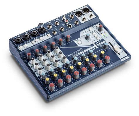 Mixer Audio Soundcraft notepad 12fx soundcraft professional audio mixers