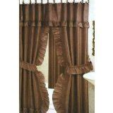 elegant double swag shower curtains double swag shower curtains a touch of elegance for your