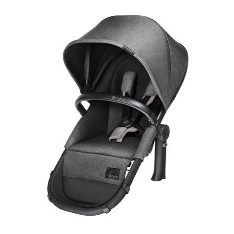 cybex car seat stroller frame cybex priam matt black all terrain frame with 2 in 1 seat