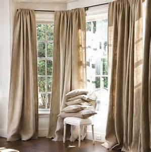 Burlap Drapes And Curtains Herringbone Burlap Panel Traditional Curtains By Ballard Designs