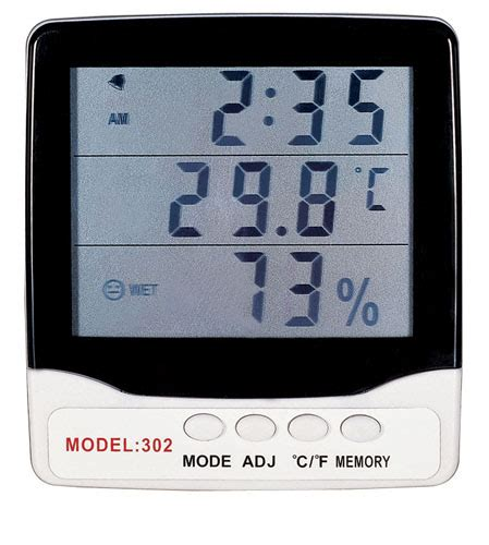 Thermometer Electronic hygrometer thermometer hygrometer hydrometer humidity