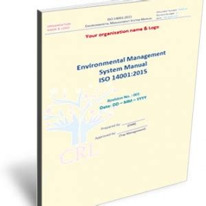 iso 14001 2015 environmental management system manual