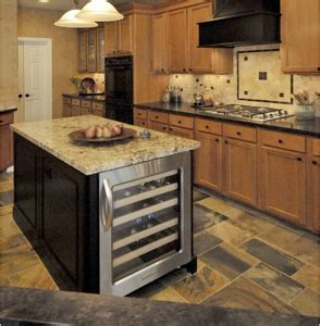 kitchen island with refrigerator kitchen island with wine cooler