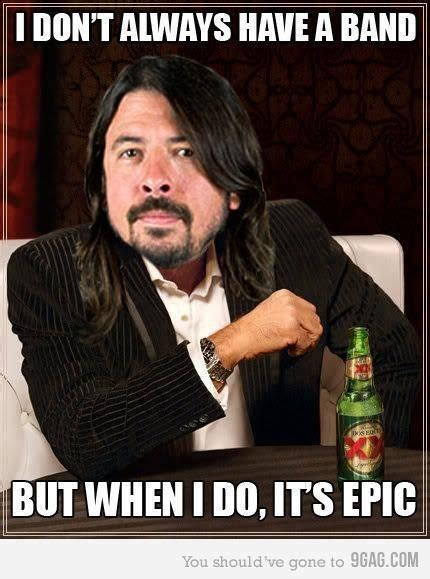 Dave Grohl Meme - 310 best foo fighters images on pinterest dave grohl