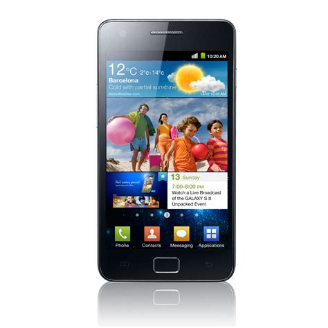 is a galaxy an android samsung galaxy s2 i9100g android 4 1 2 kommt chip