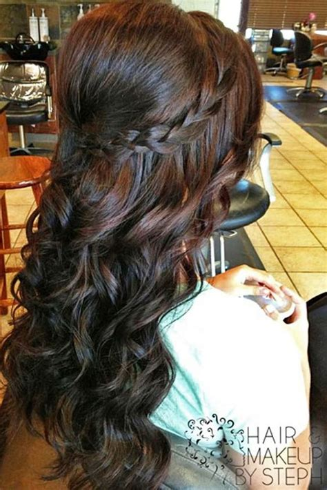 homecoming hairstyles for dark hair 60 prom hairstyles for long hair pageant planet