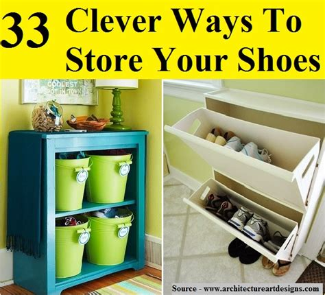 33 clever ways to store your shoes 33 clever ways to store your shoes home and tips