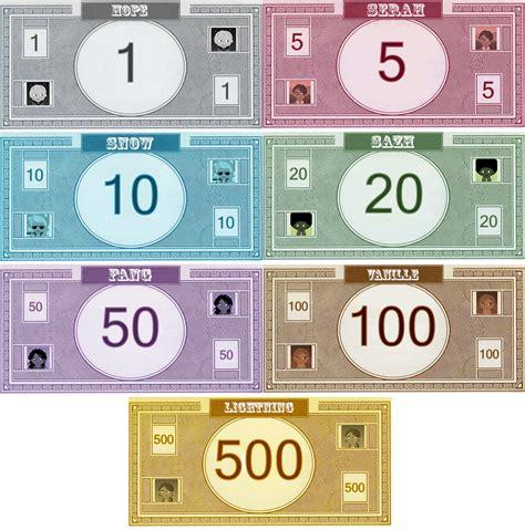 monopoly money templates monopoly ff13 money by bellatytus on deviantart