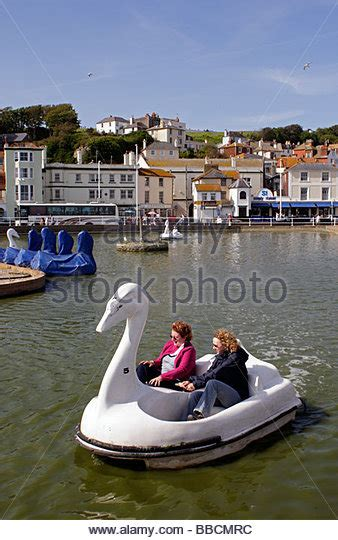 swan pedal boats hastings pedalo boats stock photos pedalo boats stock images alamy