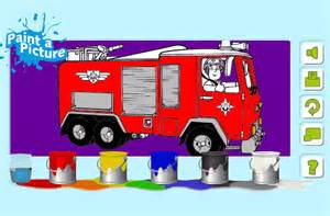 color page of a truck coloring pages for free