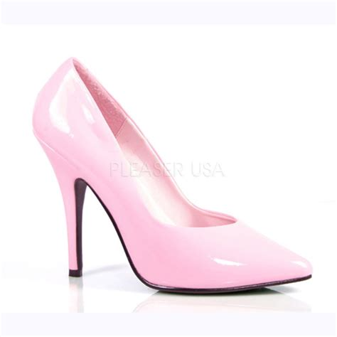 baby pink high heel shoes baby pink single sole heels patent