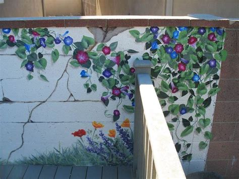 Wall Murals Outdoor 1000 Ideas About Garden Mural On Murals