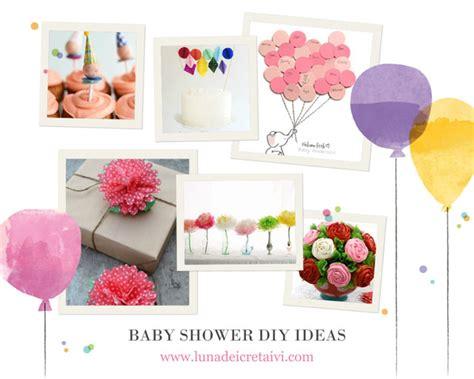 Per Baby Shower by Baby Shower Diy 10 Idee A D O R A B I L I Lunadei Creativi