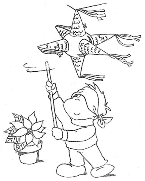 pinata coloring book coloring pages