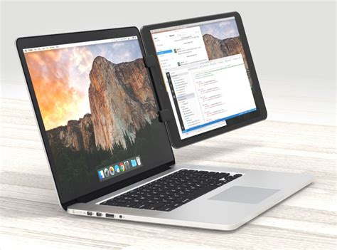 Laptop Apple Second ten one design s new mountie lets you mount your to your macbook as a second screen mac