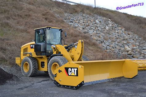 sectional snow pushers cat 930k wheel loader w snow pusher a new cat loader
