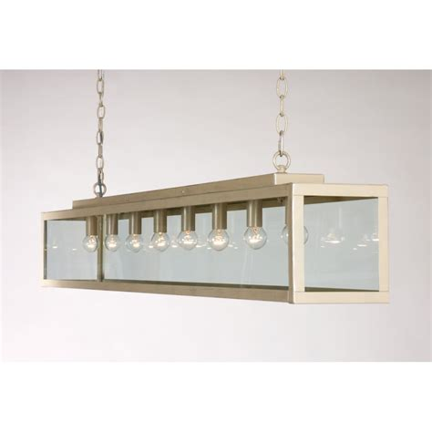 bar suspension ceiling pendant light on chains ivory