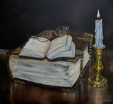painting in the books quot quot family bible and psalm book quot painting quot by