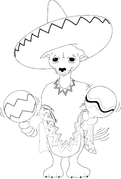 teacup puppies coloring pages girle chewawa colouring pages