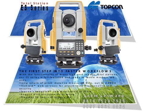 Total Station Topcon Es 101 Call topcon total station es series mandiri sejahtera survey