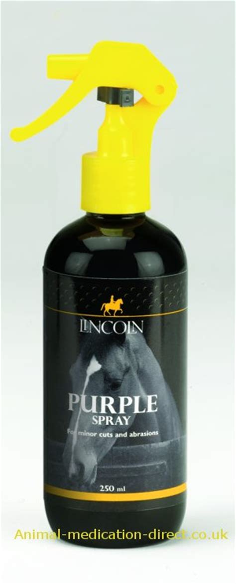 Sprei Disperse 120 Cat Best Seller lincoln purple spray for horses 250ml products