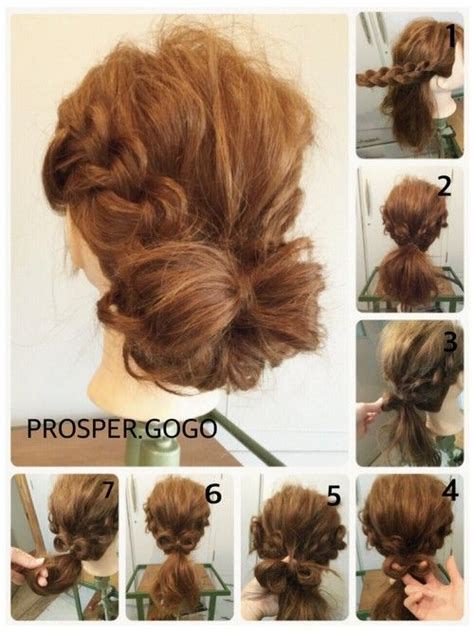 tutorial rambut casual 484 best images about hairstyles on pinterest