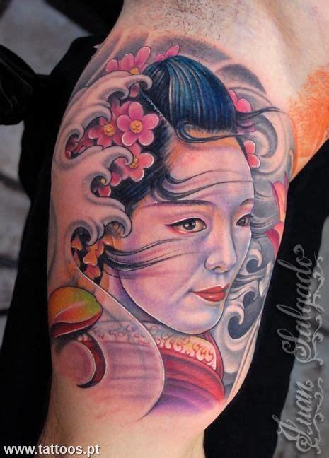 geisha tattoo no braço geisha tatuada no bra 231 o tattoos pinterest geishas