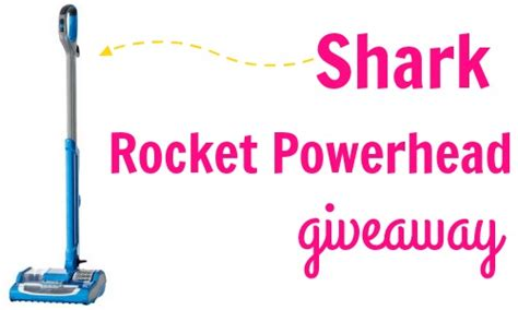 Sharks Giveaway - shark rocket powerhead vacuum review giveaway southern savers