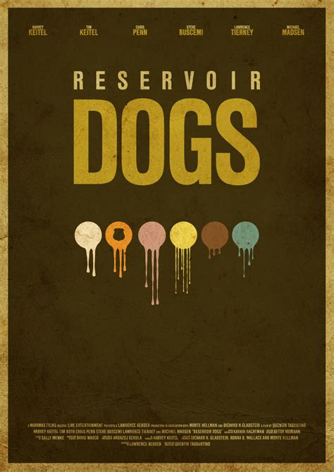 reservoir dogs poster alternative posters the matrix trainspotting blade runner reservoir dogs by
