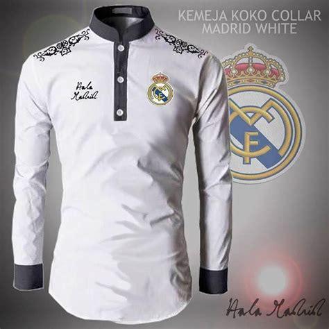 Baju Muslim Koko Bola Madrid 17 best ideas about real madrid logo on real