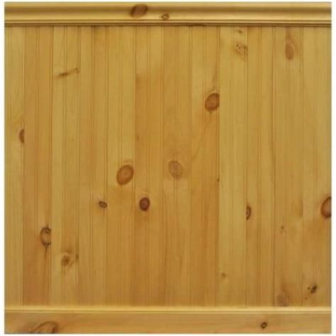 House of Fara 8 Linear ft. North America Knotty Pine