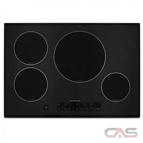 kitchenaid induction range canada kitchenaid kicu508sbl cooktop canada save 0 00 during boxing days event best price