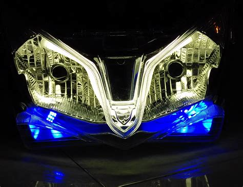 Lu Alis Vario 125 jual lu headl vario 125 f1 drl led reflektor vario
