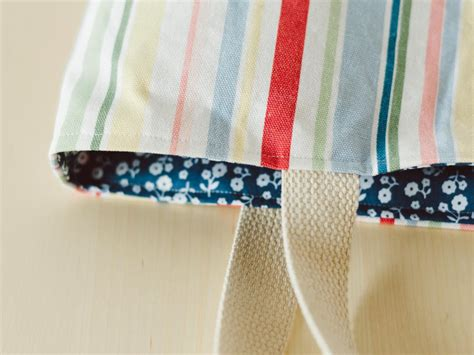 How To Make Handmade Tote Bags - how to make a tote bag easy sew ideas for a custom bag hgtv