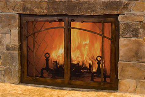 Wood Burning Fireplace Glass Doors Fresh Awesome Fireplace Doors Nj 14601