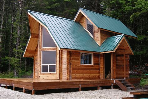 the smarter small home design kit small cabin kit cozy log home the unique roof designs and