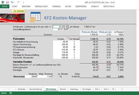 Auto Kosten Rechner by Kfz Versicherung Kosten Kfz Versicherung Kosten Steuererkl