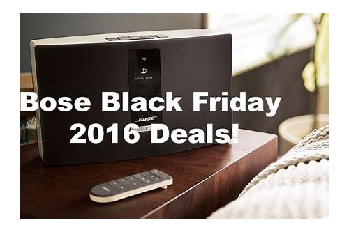 bose speakers black friday deals amazon