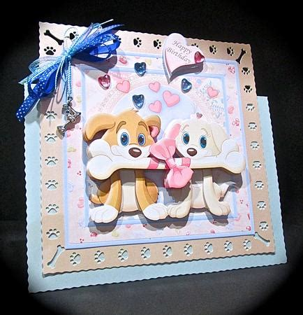 Decoupage Kits Sale - woof you big time 8x8 mini kit decoupage cup597908 68