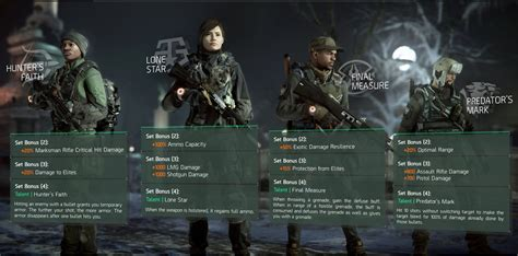 Joyag Set 2 In 1 Vg the division 1 2 update new gear sets detailed vg247