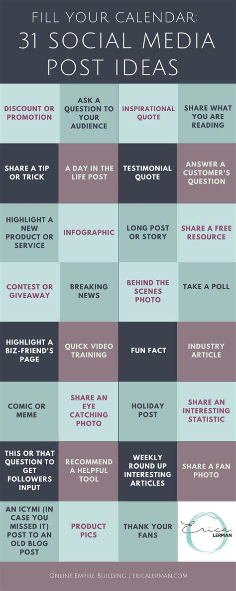Best Social Media Calendar