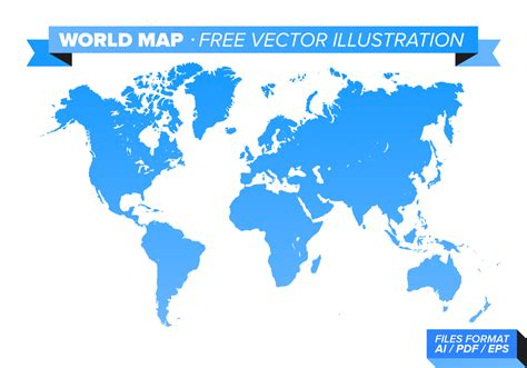world map image free world map free vector illustration free vector