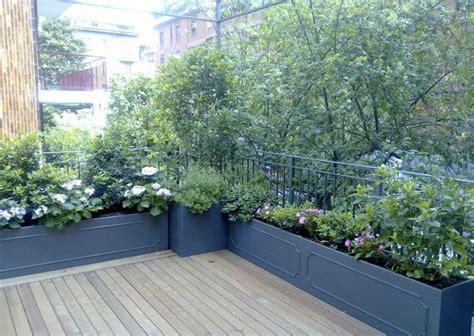 come arredare una terrazza con piante come arredare un terrazzo con le piante tante idee