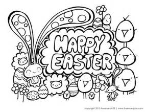 happy easter coloring pages happy easter