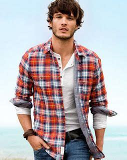 Casual Trend Alert Plaid Shirts Andjeans by S Casual Style Plaid Shirt Henley Rolled Sleeves
